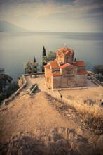 Saint John The Theologian Church At Kaneo, Ohrid