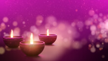 """Diwali, Deepavali Or Dipawali The Popular Hindu Festivals Of Lights, Symbolizes The Spiritual """"victory Of Light Over Darkness, Good Over Evil, And Knowledge Over Ignorance, Background Decoration"""