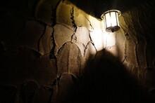 魔女が住んでいそうな雰囲気の家のライト