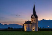 Church Of St. Anne (»Bresner Kirchle«), Brederis, Vorarlberg, Austria