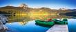 canvas print picture - lake