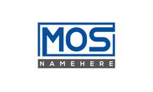 MOS Creative Three Letters Logo