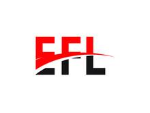 EFL Letter Initial Logo Design Vector Illustration