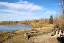 Mid October On The Wetlands, Pylypow Wetlands, Edmonton, Alberta