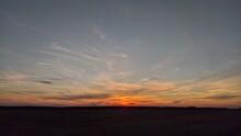 Sunset Somewhere In Ukraine Villadge
