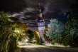 canvas print picture - Schiefer Turm in Bad Frankenhausen