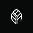 ABA letter logo creative design. ABA unique design