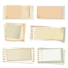 ビンテージ風用紙の素材セット