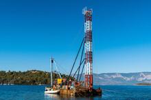 Small Dredger Boat In Turkey