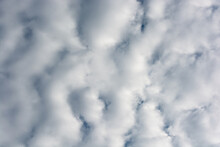 Abstract Background Of Dense Clouds.