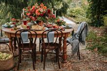 Festive Autumn Dining Table.
