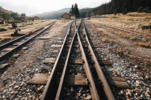 Narrow-gauge Railway Turnout