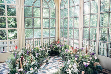Decorated Space With Flowers