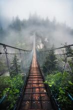 Moody Suspension Bridge