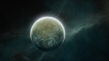 Green Planet In Space