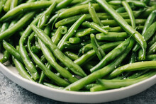 Salted Steamed Green Beans