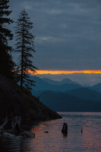 Rugged Coastline Sunrise