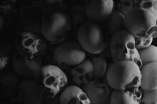 Skulls Background For Halloween