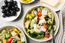 Italian Salad Dinner Food