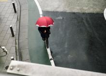 Man Under The Rain