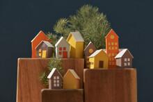 Make Of A Cardboard Houses