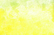 canvas print picture - Aquarell gelb abstrakter Hintergrund