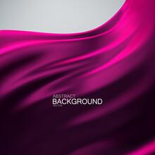 Purple Silk Fabric Background