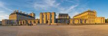 Vincennes, France - 10 16 2021: Vincennes Castle. View Of The Facade Of The Castle Of Vincennes At Sunset