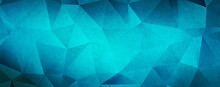 Blue Green Low Poly Triangle Abstract Background With Rough Distressed Texture High Resolution Wallpaper For Cover ,cards And Posters