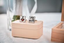 Wedding Rings On A Box