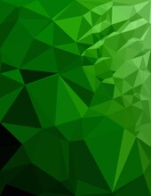 Green Color Of Abstract Background