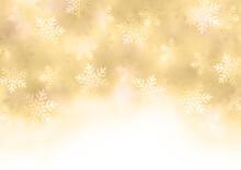 水彩風雪の結晶の背景