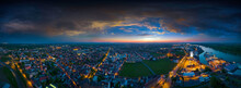 Worms Germany Airpano At Night