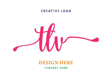 TLV Lettering Logo Is Simple, Easy To Understand And Authoritative