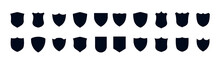 Shield Icons Set. Protect Shield Vector. Set Different Shields Icons, Protect Signs – For Stock.