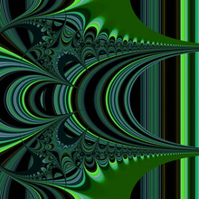 Abstract Computer Generated Fractal Design