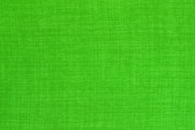Light Green Linen Fabric Cloth Texture Background, Seamless Pattern Of Natural Textile.
