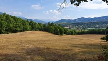 Beautiful Landscape In The Provence In South France