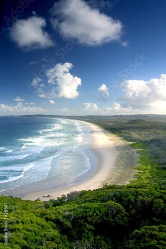 Canvas byron bay beach