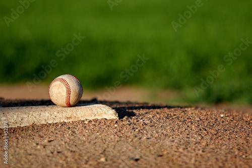 Fotografie, Obraz baseball on pitchers mound