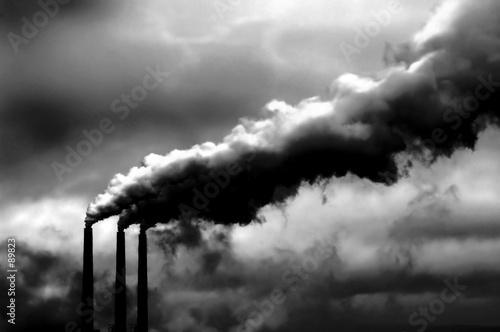 Leinwand Poster global warming