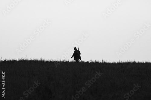 Slika na platnu chasseur en plaine