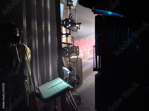 Fotografering backstage in atlanta