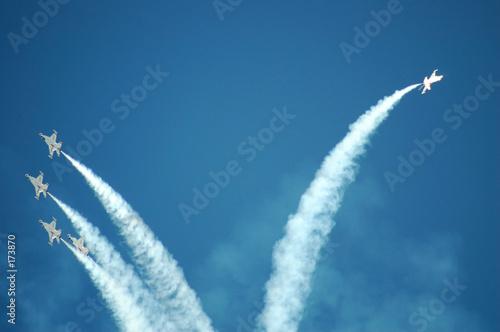 Canvas Print air force thunderbirds