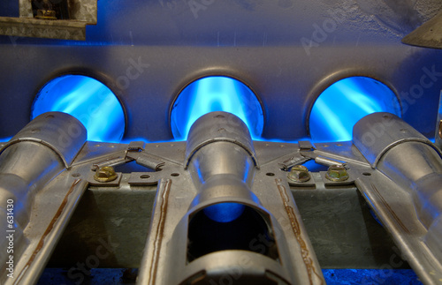 Photo gas energy flames