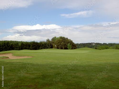 Photo terrain de golf