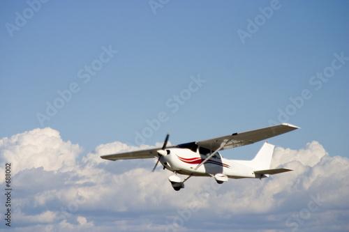 Canvas Print private plane