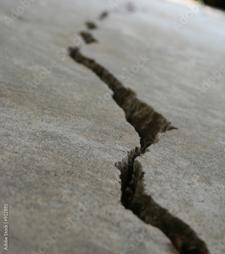Fotografija crack in foundation