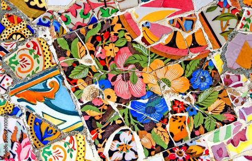 Tablou Canvas random mosaic pattern