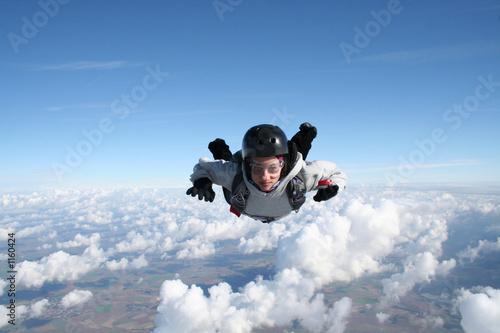 Fototapeta parachutisme